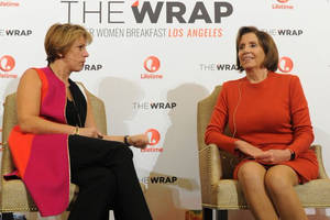 nancy pelosi urges women to 'know your power' at thewrap's power women breakfast