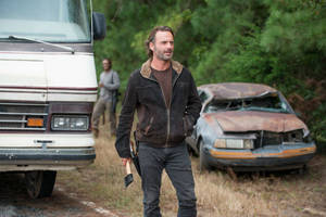 'Walking Dead's' Andrew Lincoln on Negan Victim Questions: 'It's Become Part of My Daily Routine'