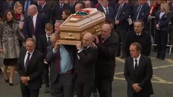 Munster rugby legend Anthony Foley laid to rest