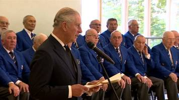 prince charles gives aberfan message from the queen