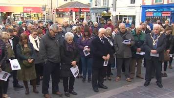 Wales falls silent to remember the Aberfan disaster