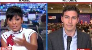 Tamron Hall Apologizes For MSNBC Reporter Yapping Through National Anthem At Trump Rally