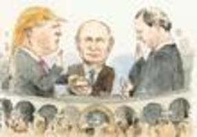Putin Is Trump's First Lady In Next Week's New Yorker Cover