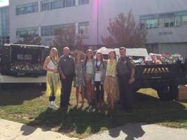 Ridgefield Police Partner with High School Students to Help Community