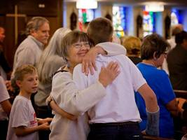 St. Cletus Students Honor Their Grandparents