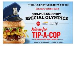 help the will county sheriff's office support special olympics