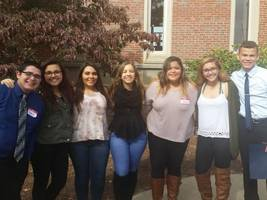 PHOTO OF THE DAY: Assabet Students Attend Officers Workshop at Holy Cross