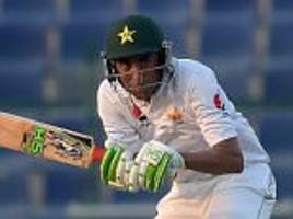 Younis Khan and Misbah-ul-Haq guide Pakistan towards big total after early trouble against West Indies