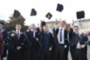 Our favourite pictures from Exeter College's graduation ceremony...