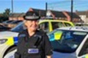 coleshill police officer who joined as a 'dare' retires from the...