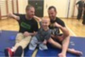 watch inspirational quadruple amputee marshall janson, 8, show...