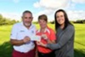 golfers swing into action to support hospital neonatal unit