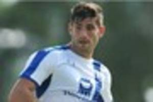 SPY IN THE CAMP: Ched Evans has not lost his striker's instinct