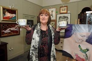 Breast cancer survivor raising awareness of illness with Dumfries and Galloway art exhibition and coffee morning in aid of Macmillan