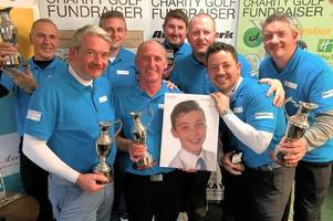 golfers inspired by east kilbride schoolboy's memory to raise over £3000