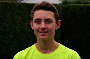 Rising badminton star Cameron Orchard thanks Perthshire community for fundraising support