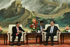 Philippines' Duterte ends US ties, embraces China