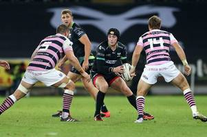 Sam Davies starts for Ospreys in second Challenge Cup clash against Lyon