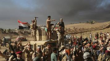 jonathan beale: slow progress for the mosul offensive
