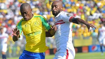 African Champions League: Sundowns on brink of fairytale victory