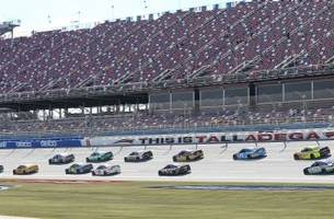 Sprint Cup Practice 1 results for Hellman's 500 from Talladega