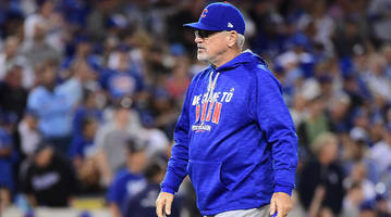 chicago cubs manager joe maddon is frustrated with mlb sideline devices