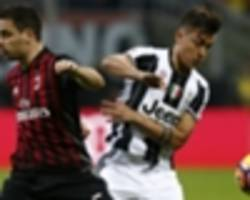 dybala limps off with muscle injury against milan