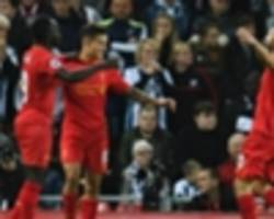 liverpool 2-1 west brom: mane and coutinho move reds up to second