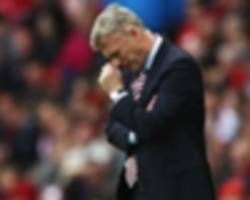 the sorry statistic that compounds the woes of david moyes' sunderland