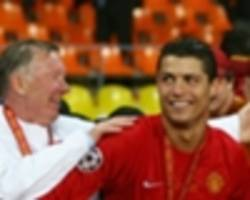 i didn't make ronaldo, he made himself - ferguson