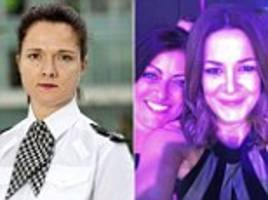 busted! senior policewoman who 'had a drunken row with a colleague over whose breasts were most attractive' is set for a humiliating public grilling