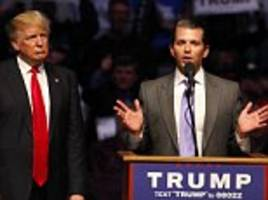 Donald Trump Jr. says his dad's comments about sexually harassing women are typical among men, calling it 'a fact of life'