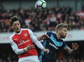 arsenal 0-0 middlesbrough: arsene wenger's side frustrated by stubborn visitors in emirates stalemate
