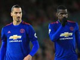 manchester united winger ashley young backs paul pogba and zlatan ibrahimovic