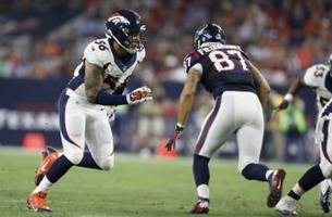 houston texans vs. denver broncos: point spread and over/under