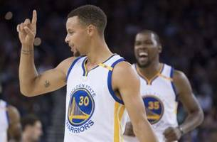 Kevin Durant, Stephen Curry shine in preseason finale