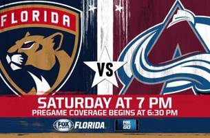 Colorado Avalanche at Florida Panthers game preview