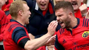 european champions cup: munster 38-17 glasgow warriors