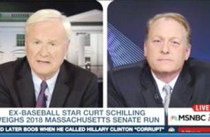 Matthews Confronts Curt Schilling About His Comments to Jake Tapper About Jewish Democrats