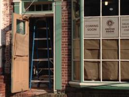 new coffee shop opening on state street this winter