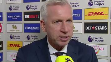 leicester 3-1 crystal palace: score does not reflect eagles' performance - pardew