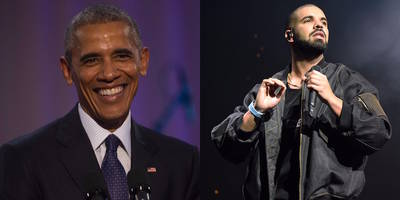 "Watch President Obama Dance to Drake's ""Hotline Bline"" at the White House"