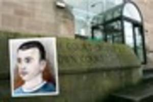 prisoner christopher magee - who plotted arson attack on woman -...