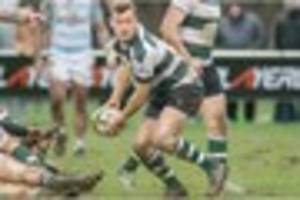 leinster a 21 nottingham rugby 29: british and irish cup match...