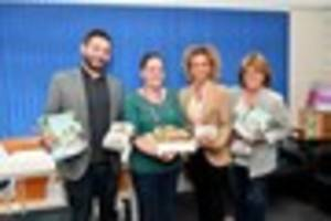 delight as humberston cake bakers rise to occasion