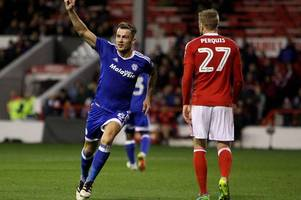 all the performances rated as cardiff city midfield deliver vintage display against nottingham forest