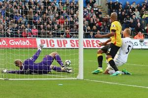 five things we learned from a game of missed opportunities as swansea ctiy drew with watford fc