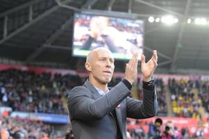 'wins won't come without hard work' — bob bradley's message to swansea city players after watford stalemate