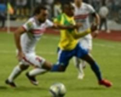 zamalek 1-0 mamelodi sundowns (1-3 agg): south africans clinch first caf champions league title