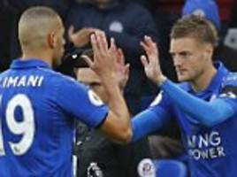 leicester manager claudio ranieri plays down jamie vardy's omission from the start against crystal palace